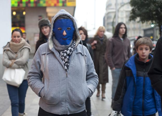 Anónimos en la ciudad