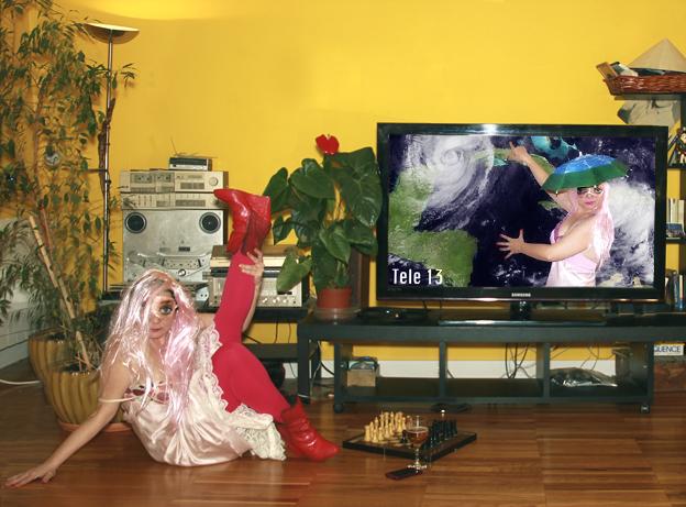 Pinky Spring meteorologa de la television